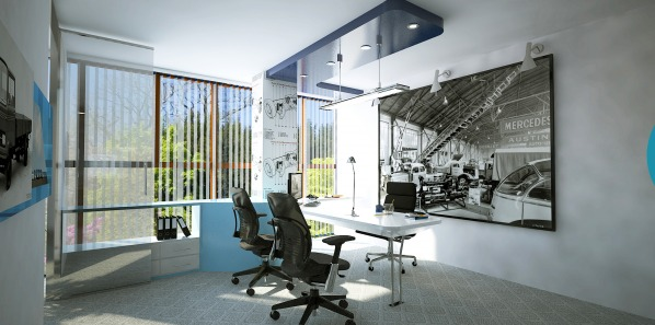 Image New factory office