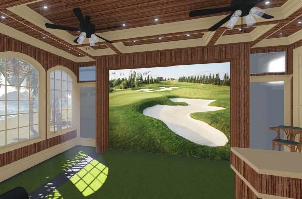 Image The Curtis Golf Simula...