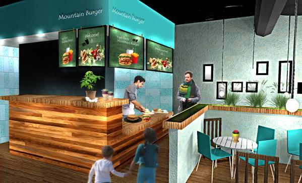 Image Restaurant Interior Re...