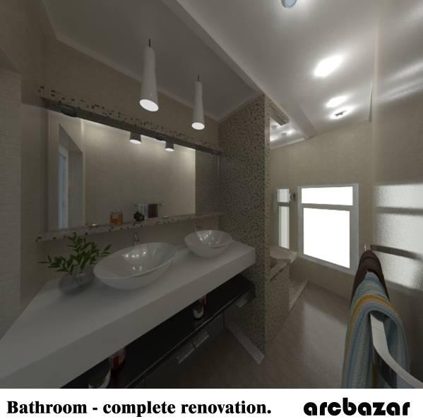 Image Bathroom   complete re. Bathroom Designed by Hakan Imert Interior Architectural Design