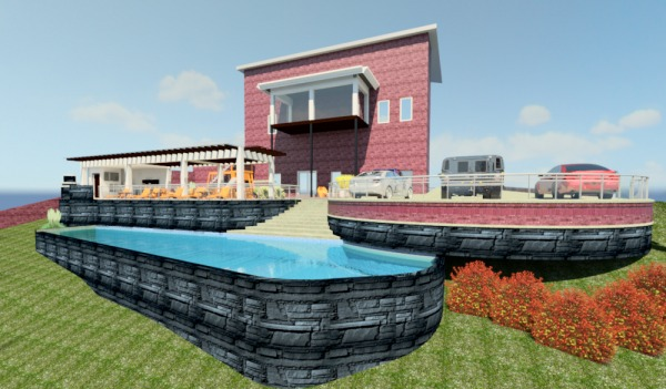 Image Backyard Pool, Deck an... (1)