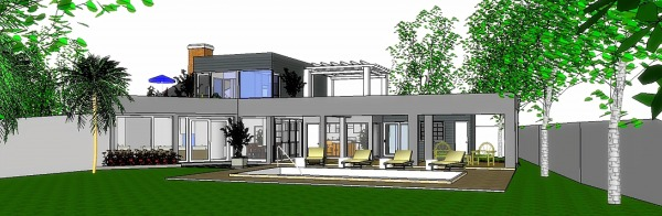 Image Modern style family house