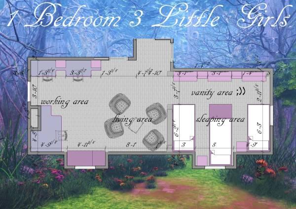 Image 1 Bedroom 3 Little Girls