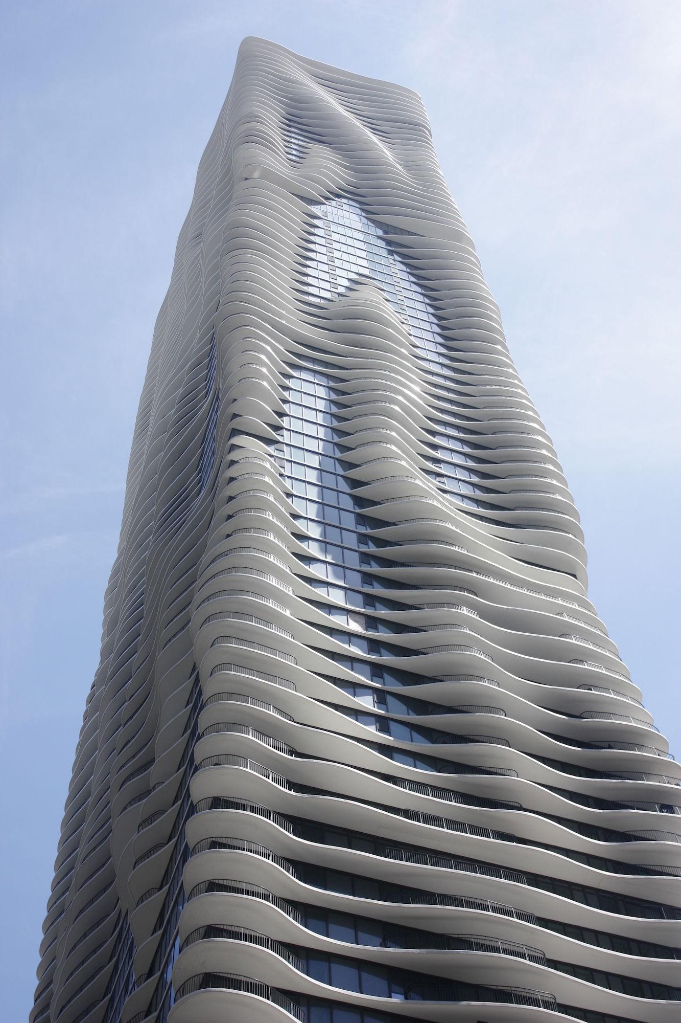 Home Design Architect Aqua 183 Buildings Of Chicago 183 Chicago Architecture Center