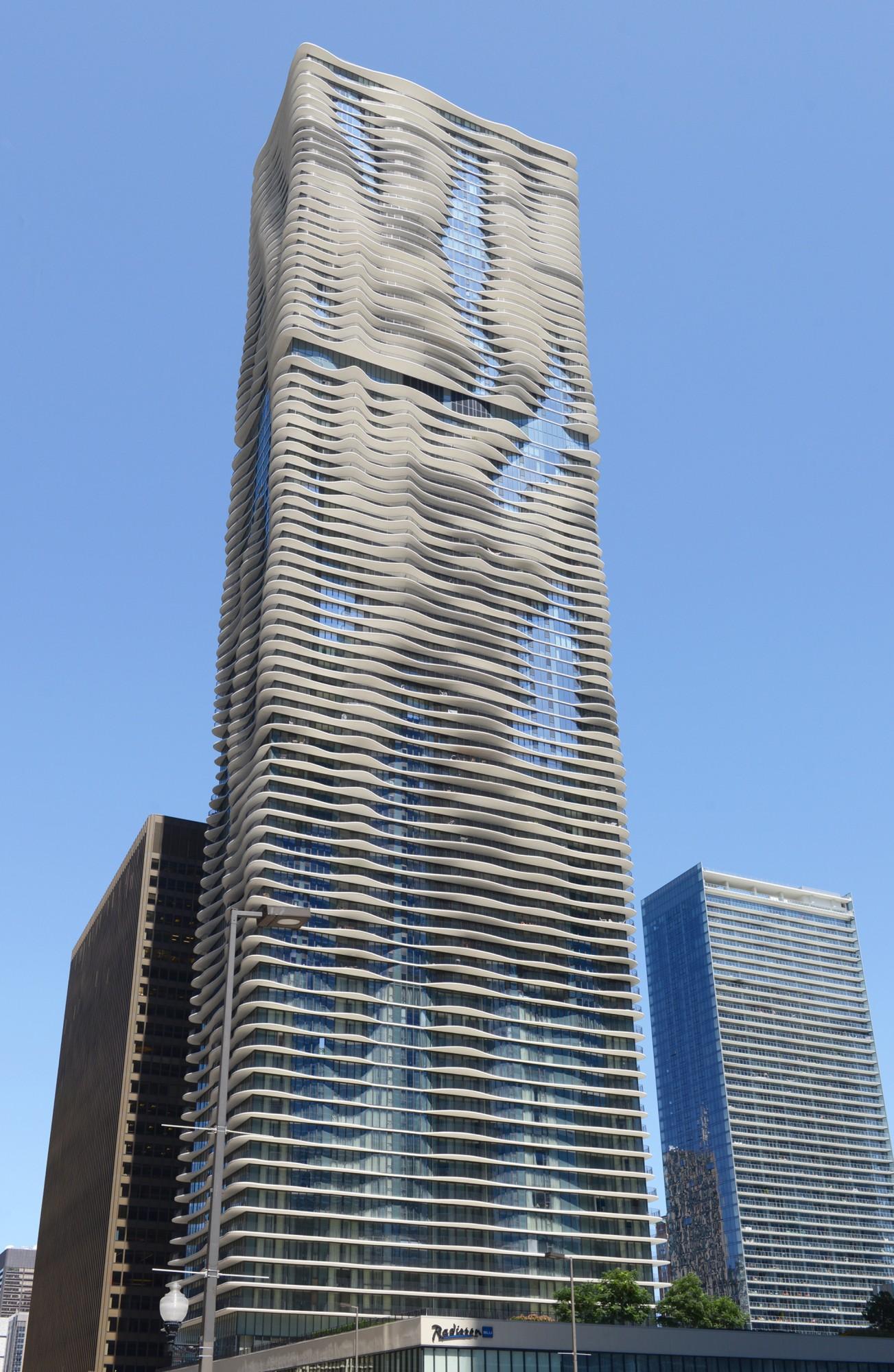 Aqua Buildings Of Chicago Chicago Architecture Foundation