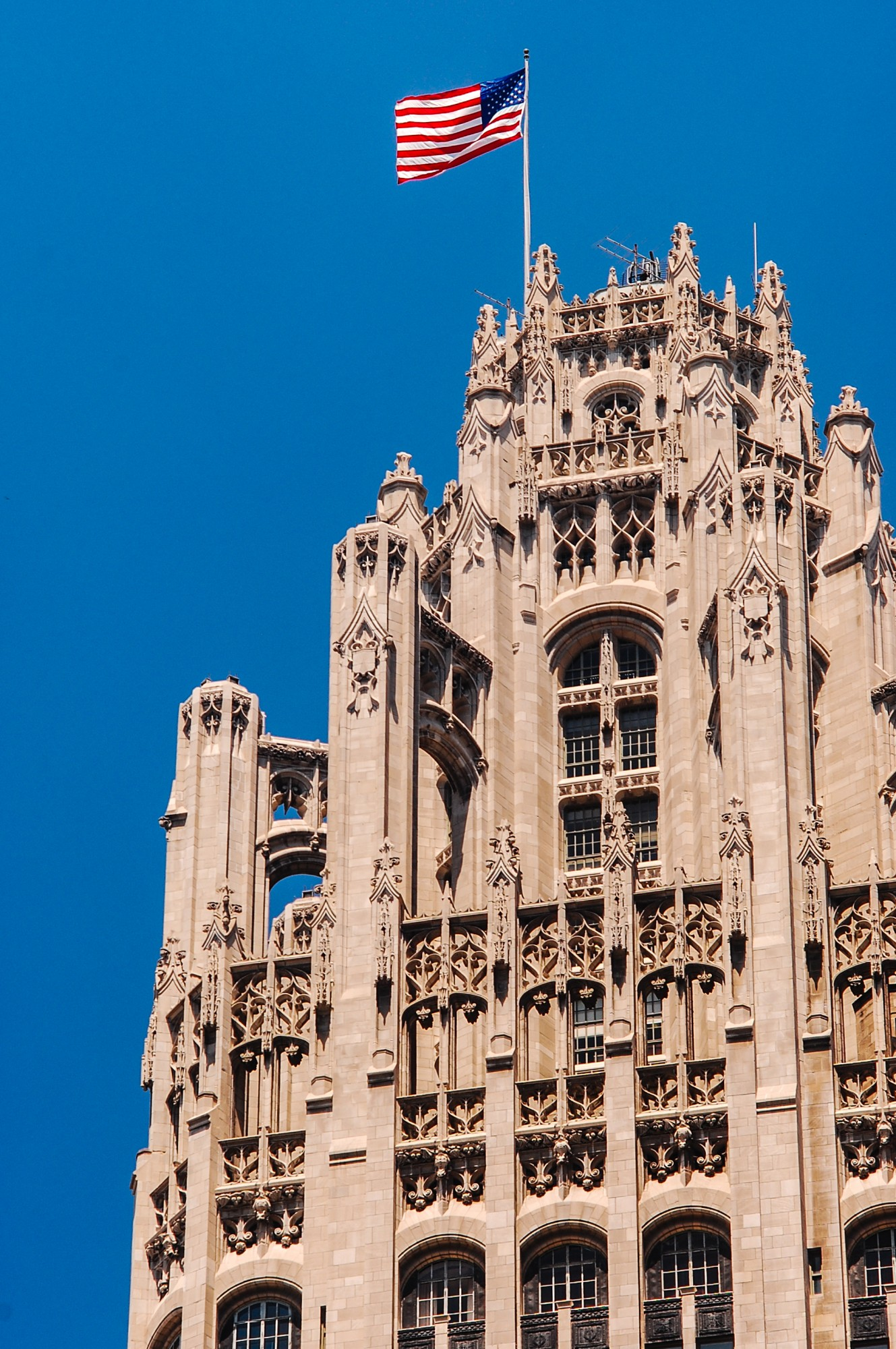 Gothic Revival Home Plans Tribune Tower 183 Buildings Of Chicago 183 Chicago