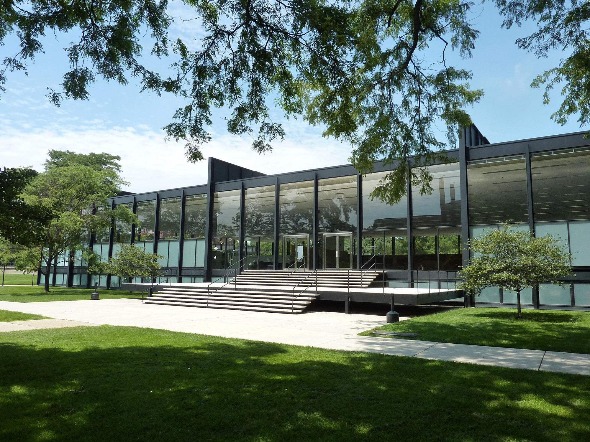 Crown Hall · Buildings of Chicago · Chicago Architecture Center - on