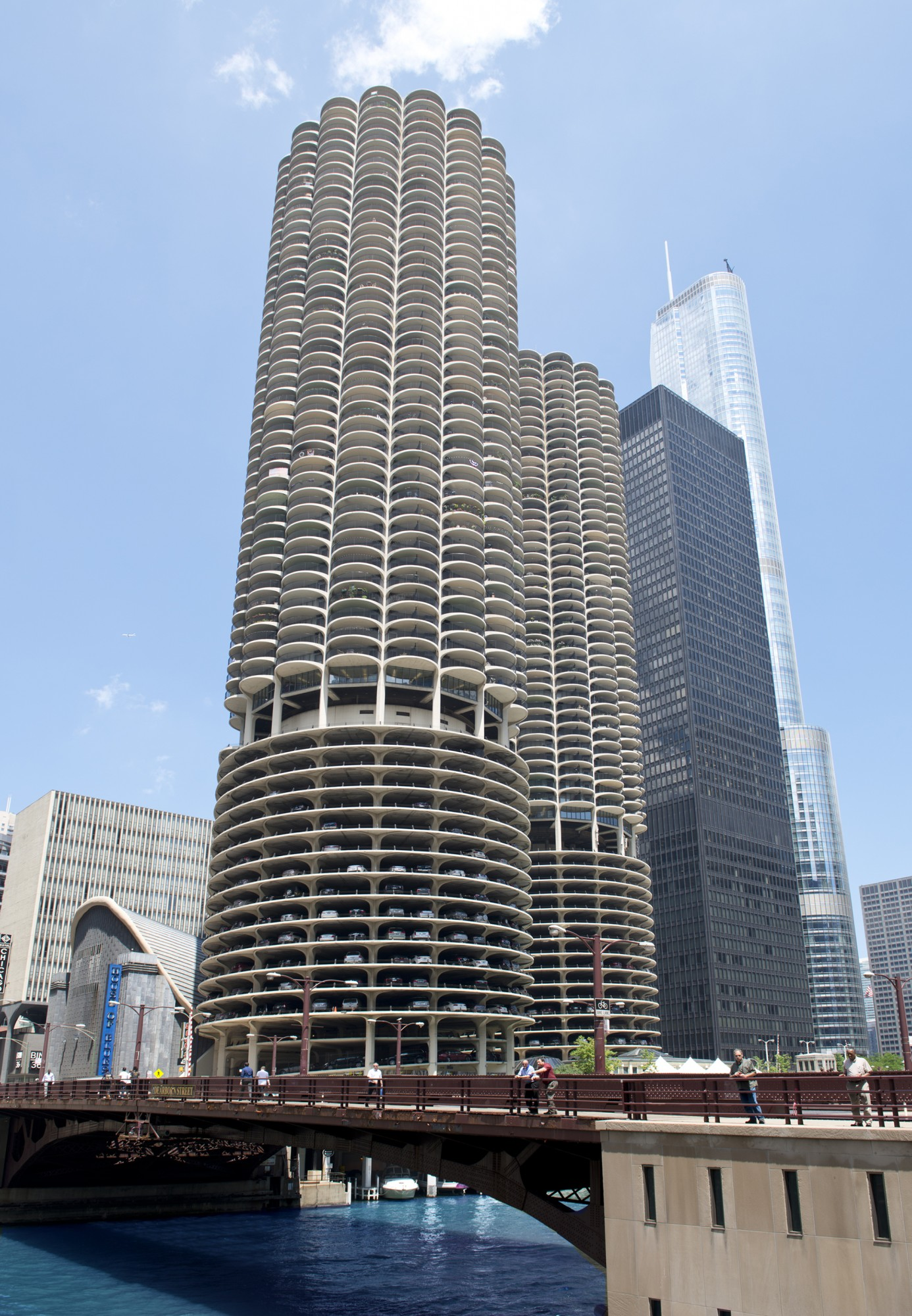 Building A Basic Wardrobe V5 0 Malefashionadvice: Marina City · Buildings Of Chicago · Chicago Architecture