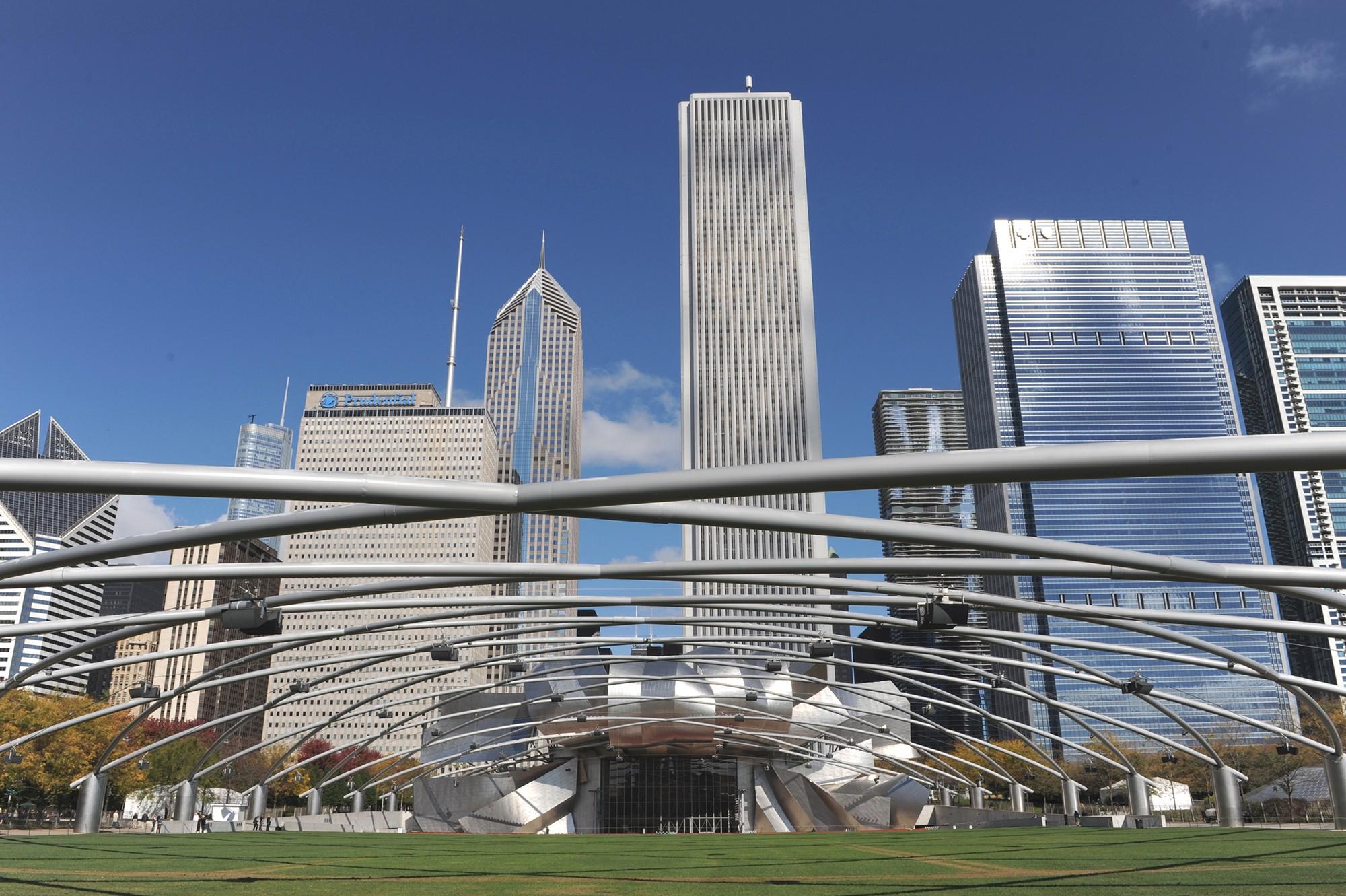 Millennium Park 183 Buildings Of Chicago 183 Chicago