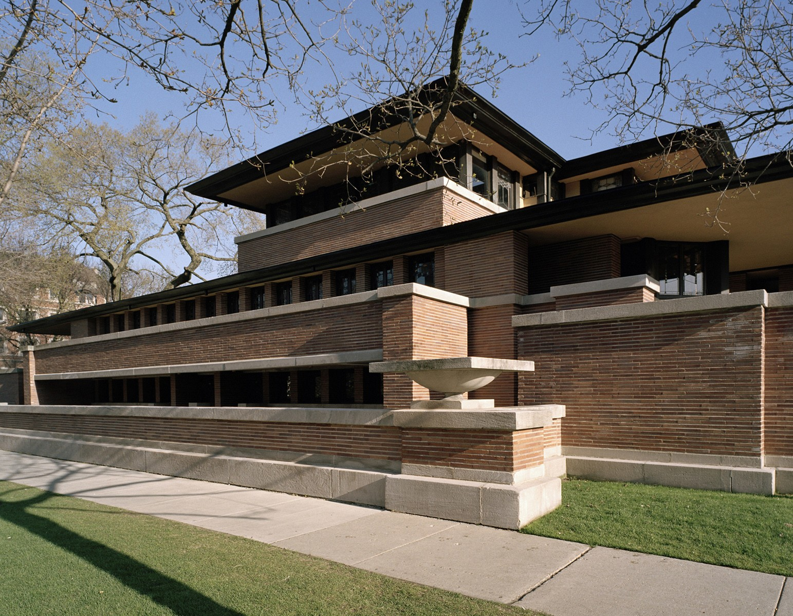 Frank Lloyd Wright Chicago Map.Robie House Buildings Of Chicago Chicago Architecture Center Cac