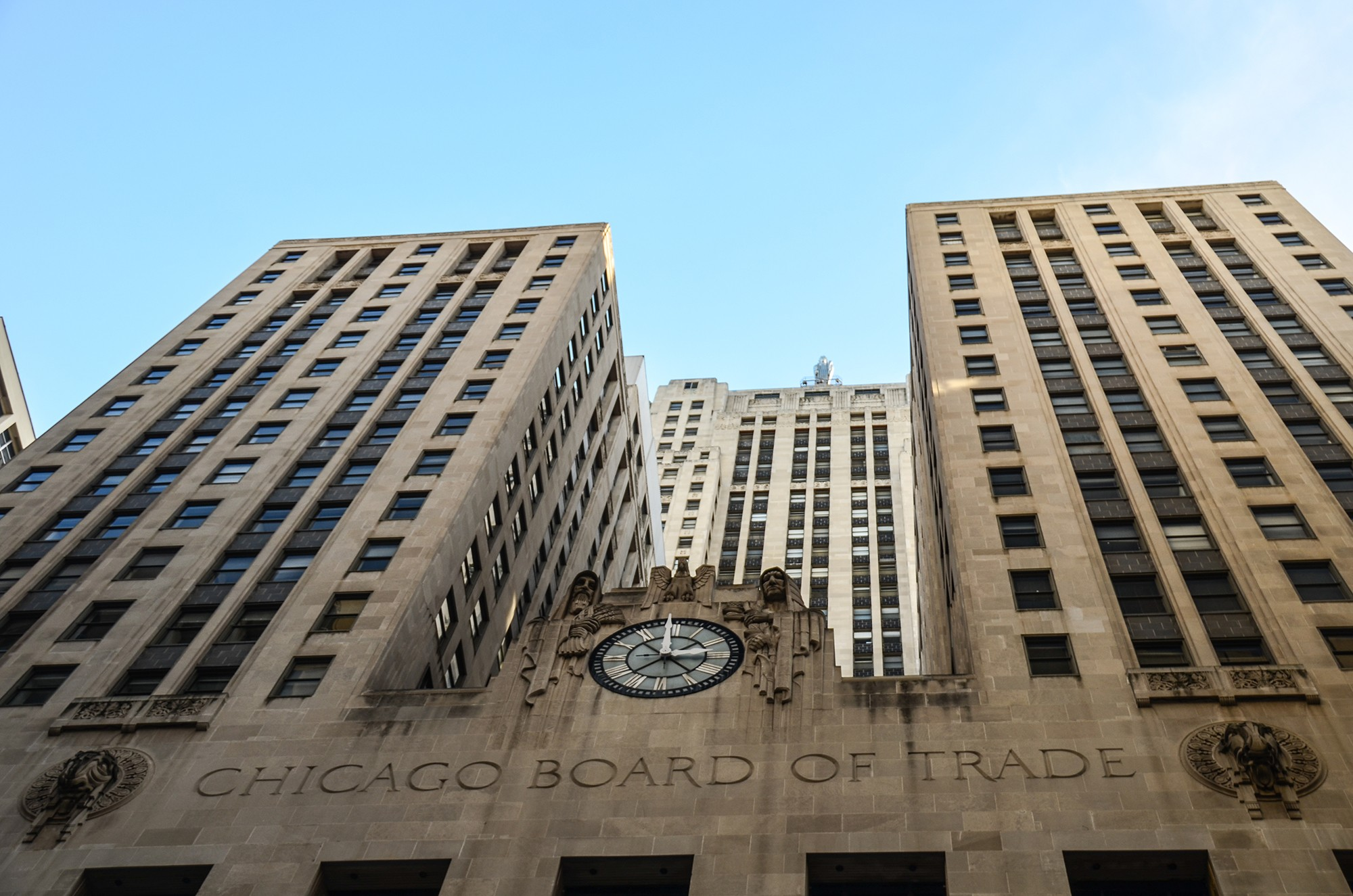 Chicago Board Of Trade Building Tours Architecture