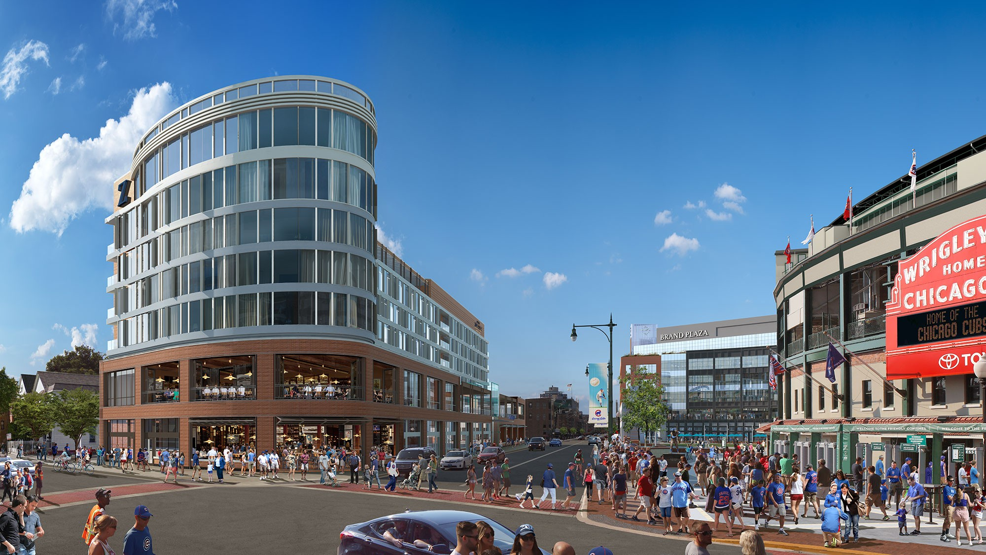 Members only tour wrigleyville 39 s new hotel zachary for New hotels in chicago