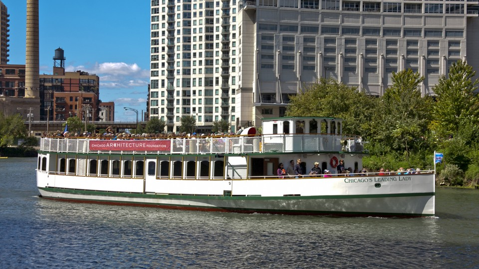 Chicago Architecture Foundation River Cruise Aboard Chicago39s First Lady