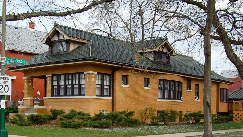 Hipped Roof Architecture Design Visual Dictionary Chicago Architecture Center Cac