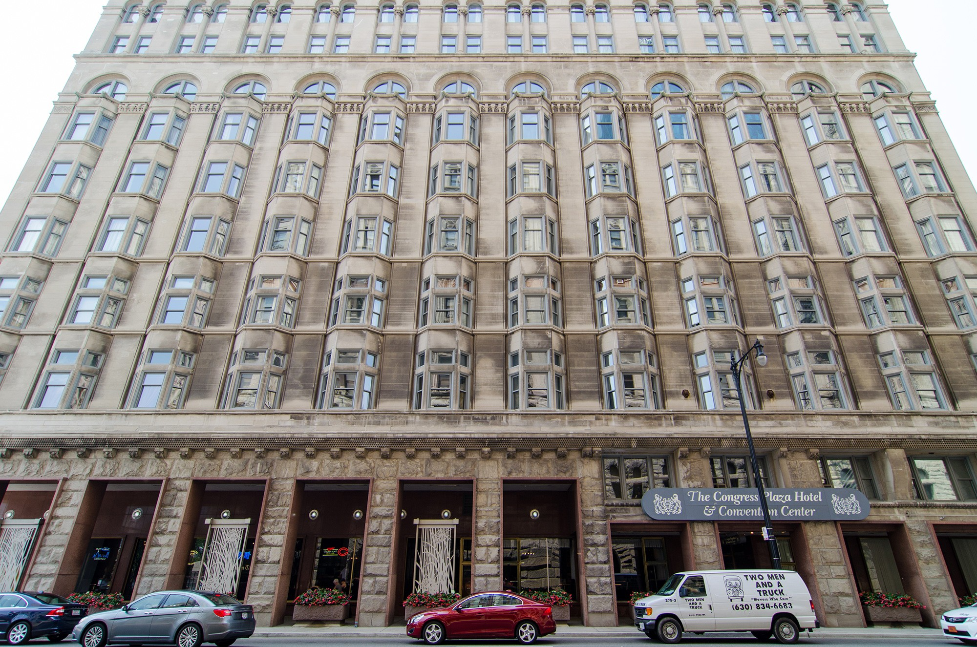 Congress plaza hotel convention center sites open for Plaza hotel