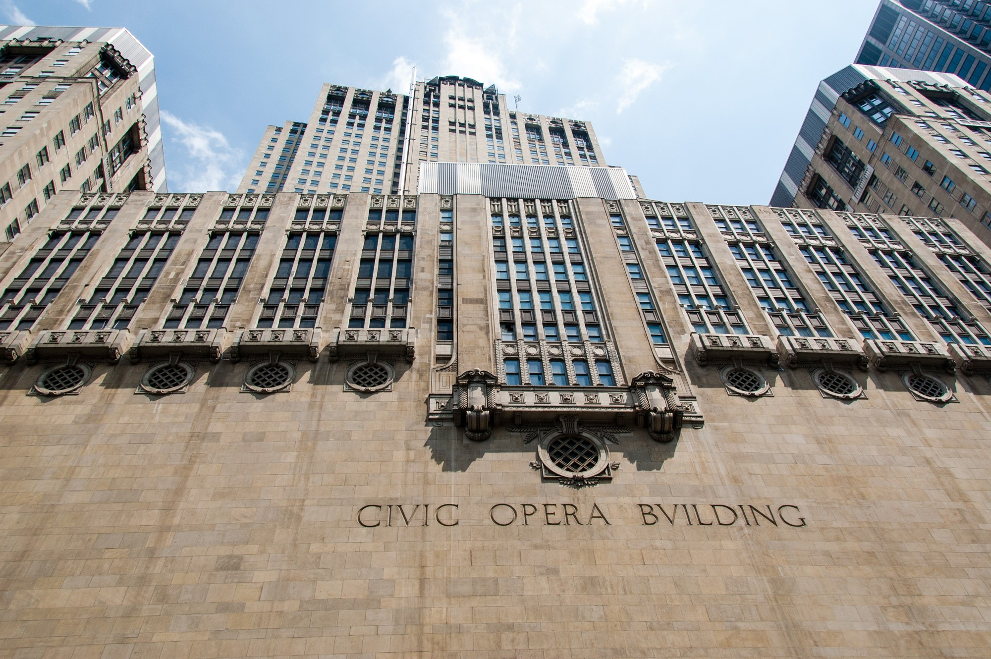 Civic Opera Building Not an active site by Eric Allix Rogers View