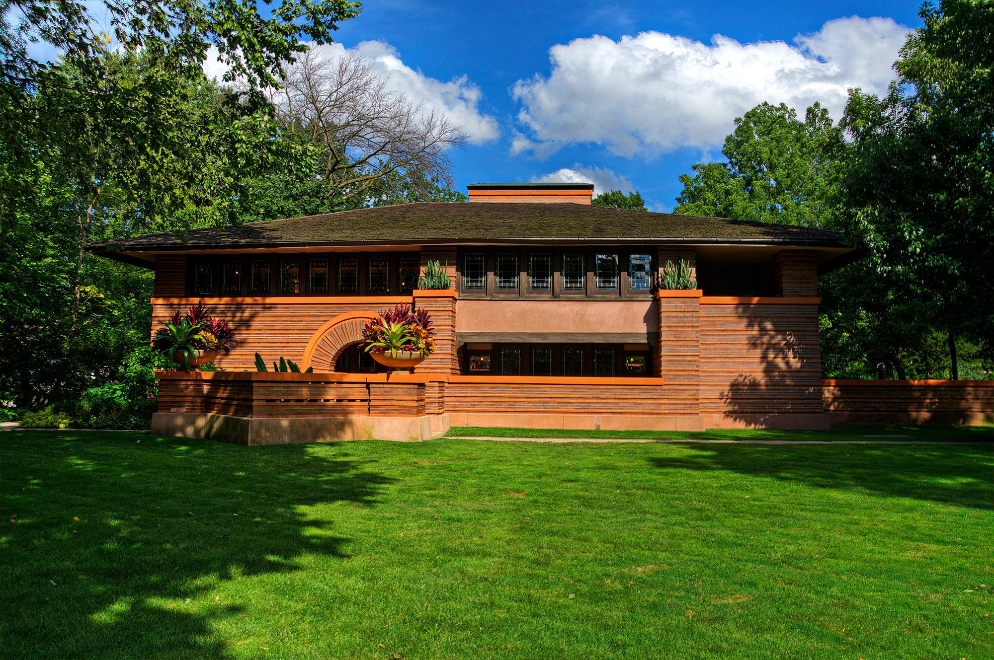 Frank lloyd wright in oak park tours chicago - Frank lloyd wright architecture ...