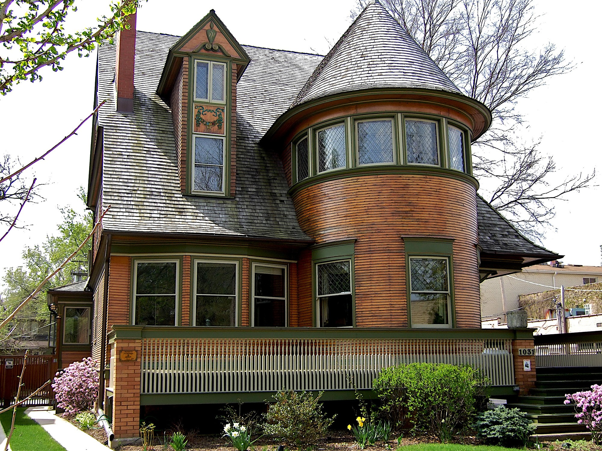 Frank lloyd wright in oak park tours chicago - Frank lloyd wright structures ...