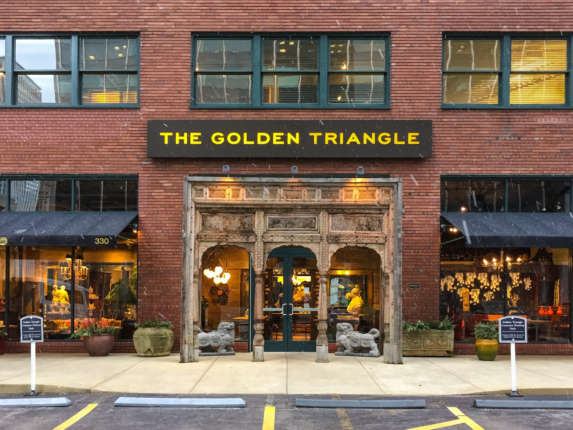 The Golden Triangle Sites Open House Chicago
