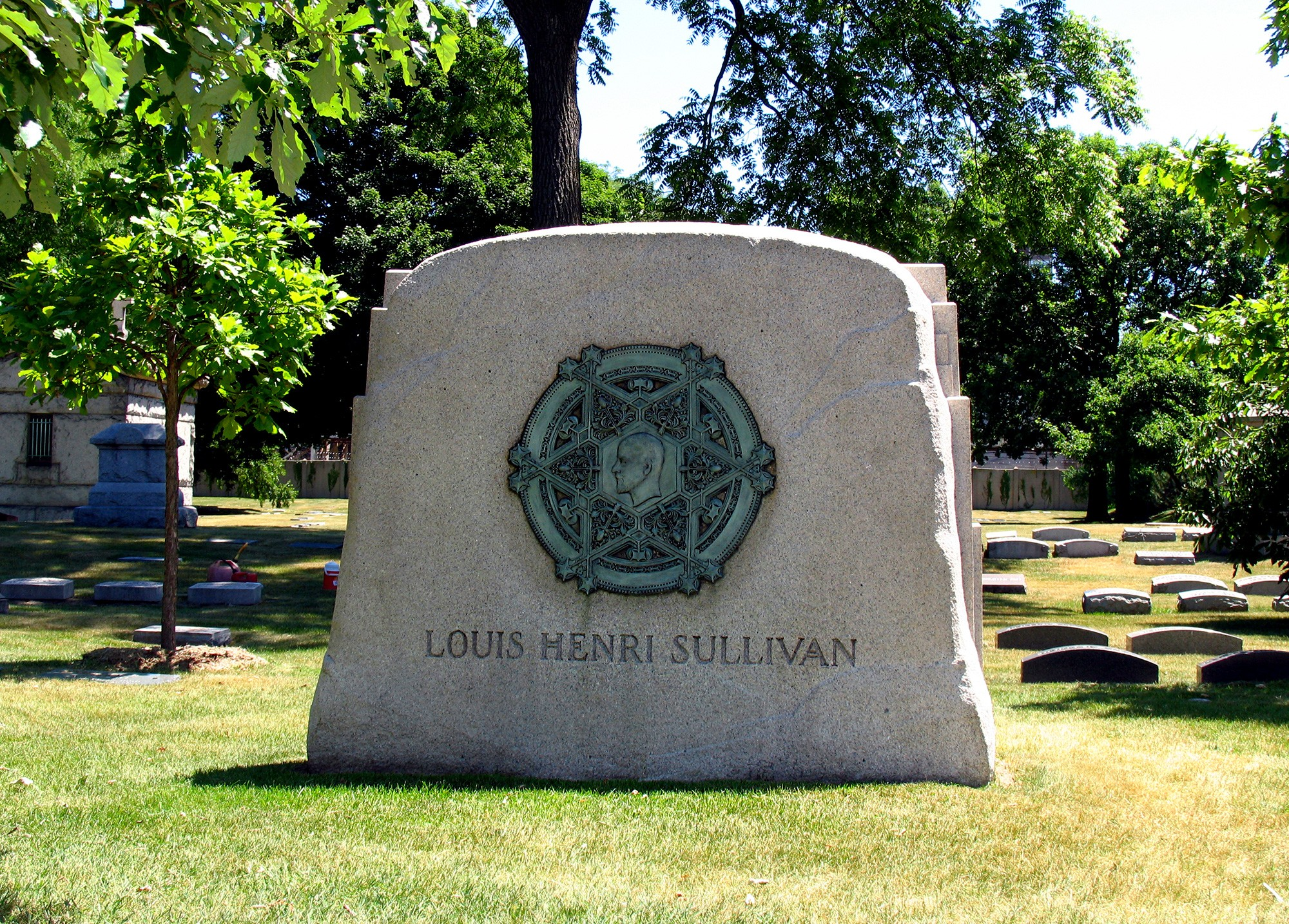 Tour Graceland Cemetery Chicago