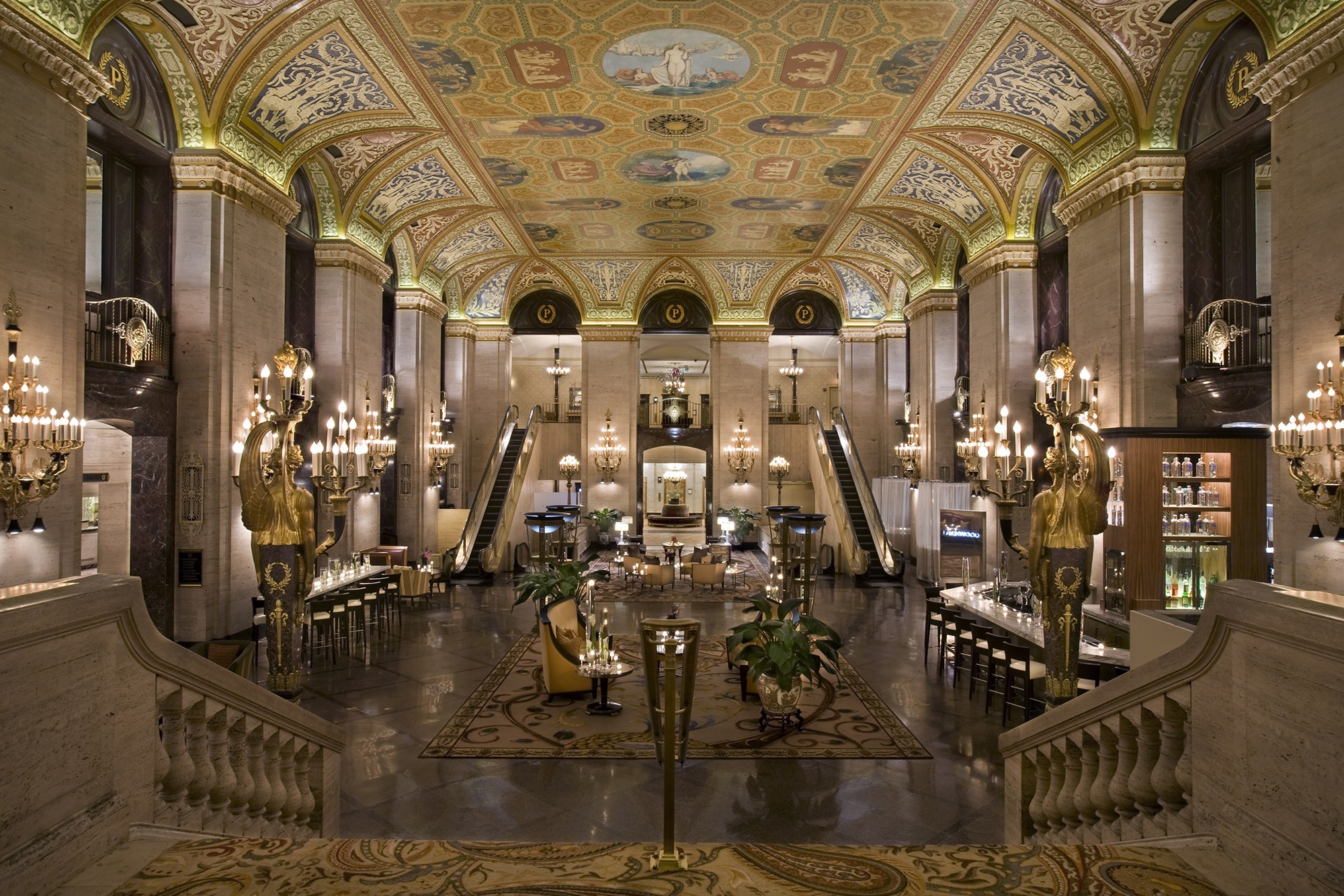 Palmer house hotel tours chicago architecture for Palmer homes