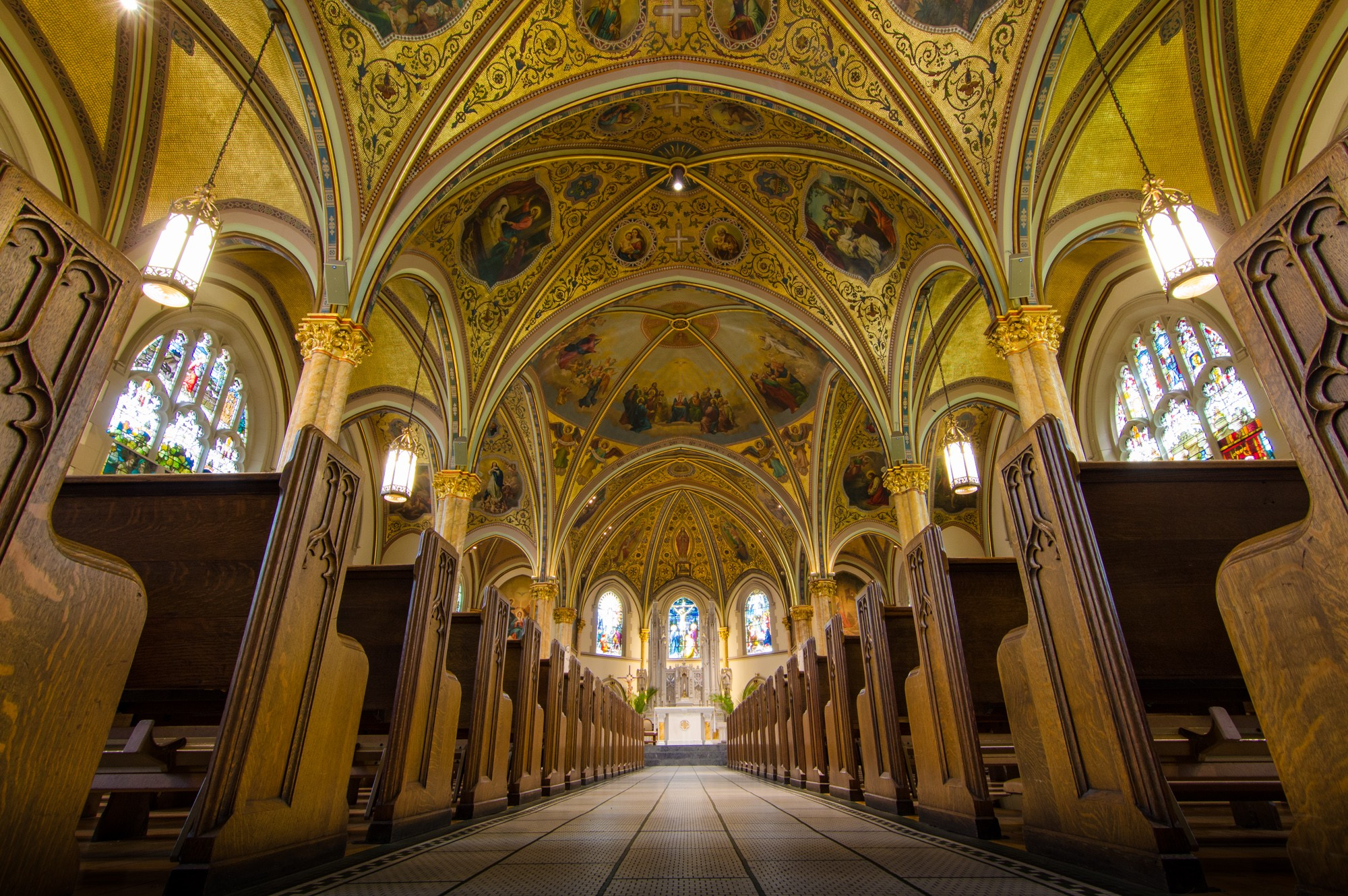 St  Edmund Roman Catholic Church · Sites · Open House Chicago