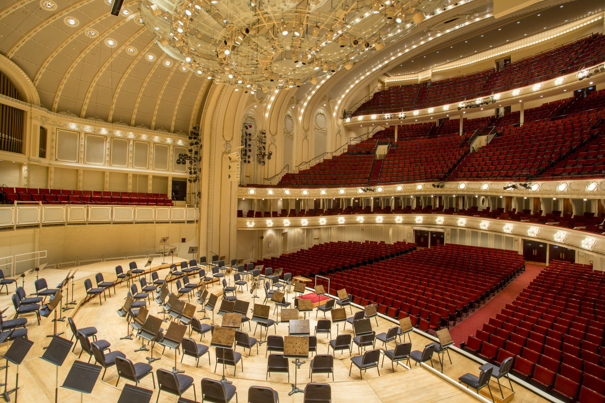 orchestra hall at symphony center · sites · open house chicago