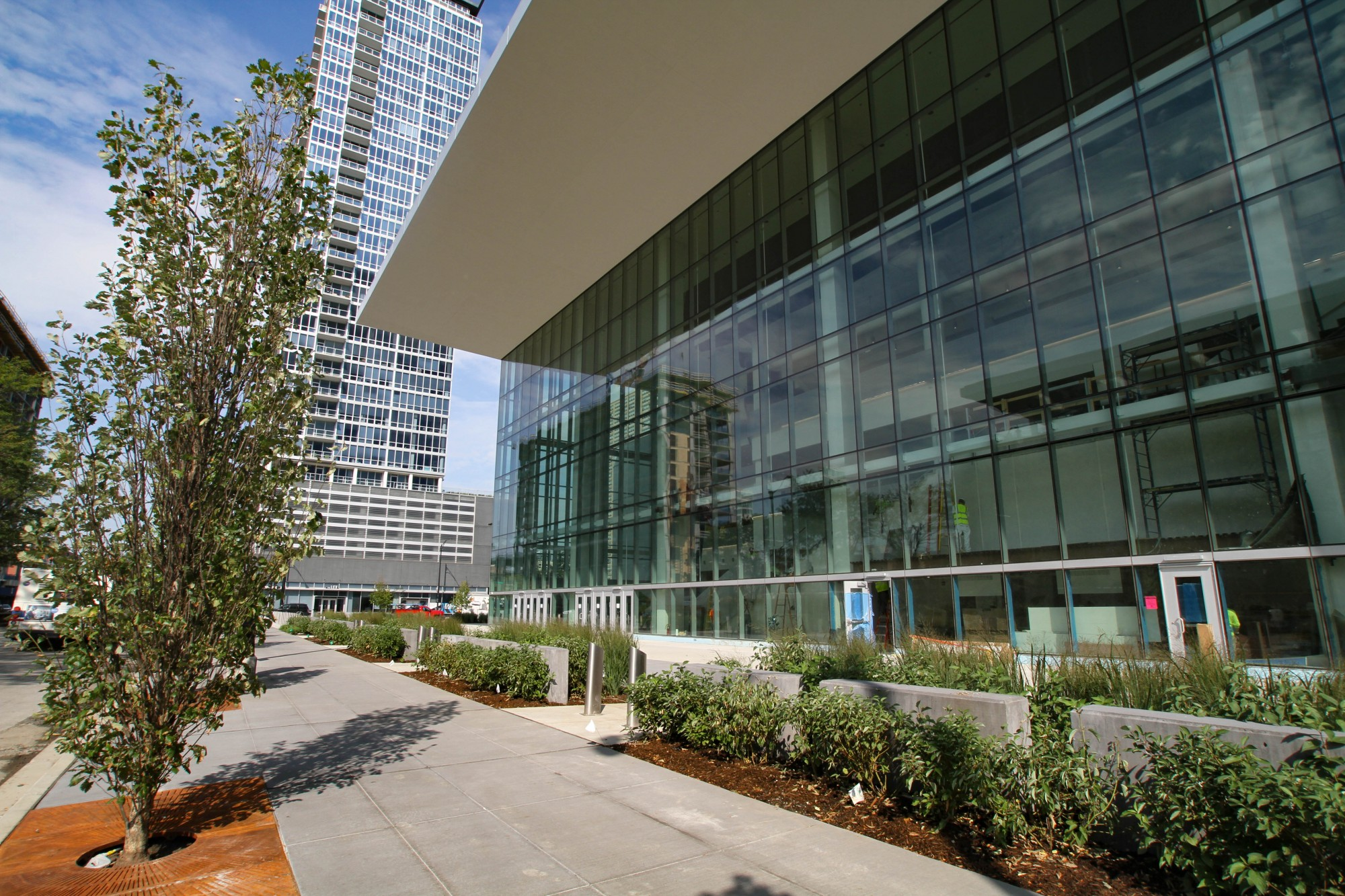 Exterior: Wintrust Arena · 2017 Sites · Open House Chicago