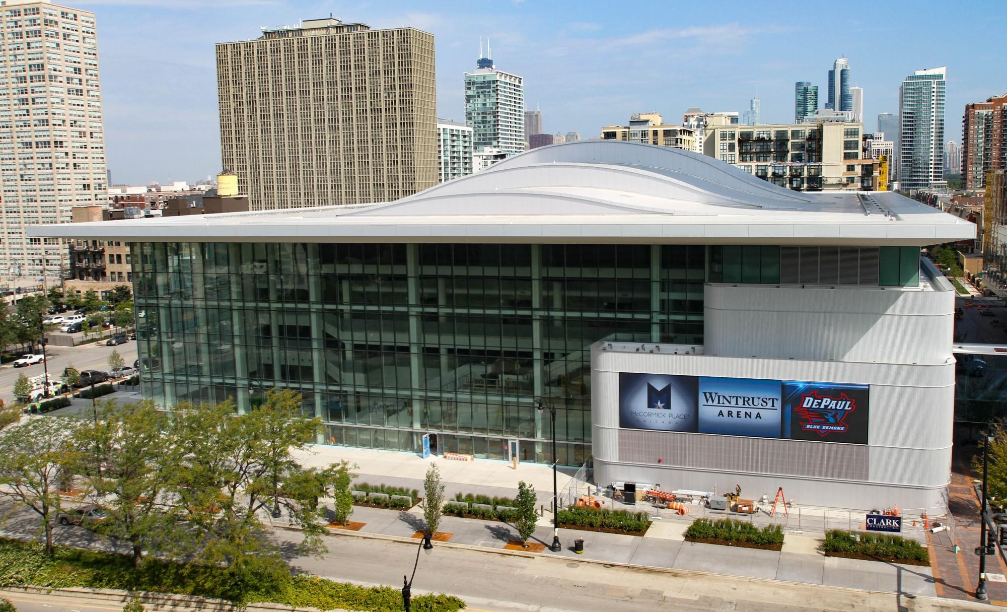 Exterior: Wintrust Arena · Sites · Open House Chicago