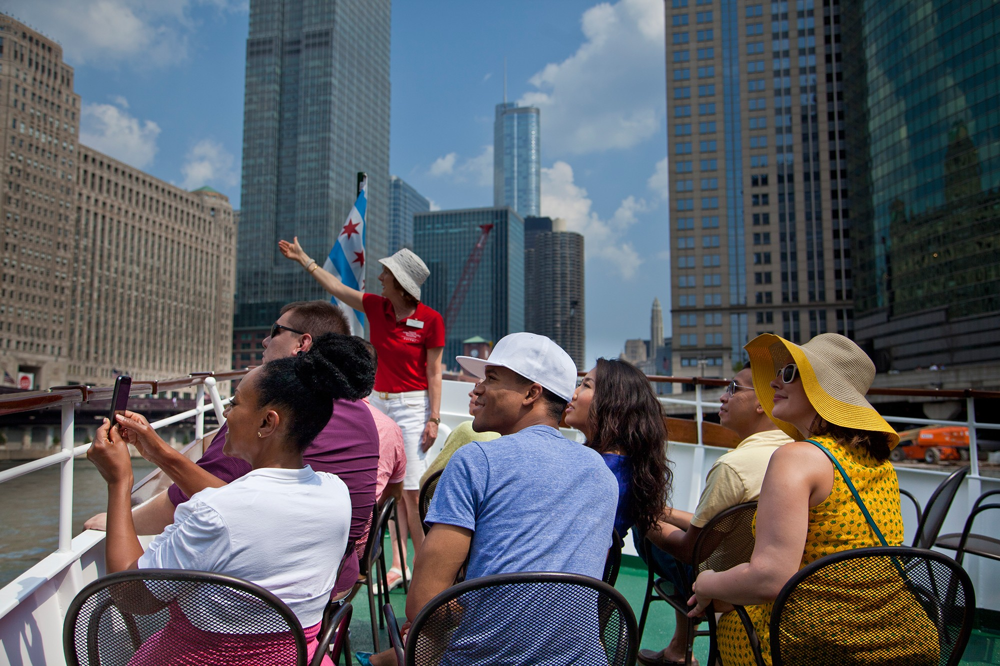 A History Of The Chicago Architecture Foundation River Cruise Aboard Chicagos First Lady Cruises