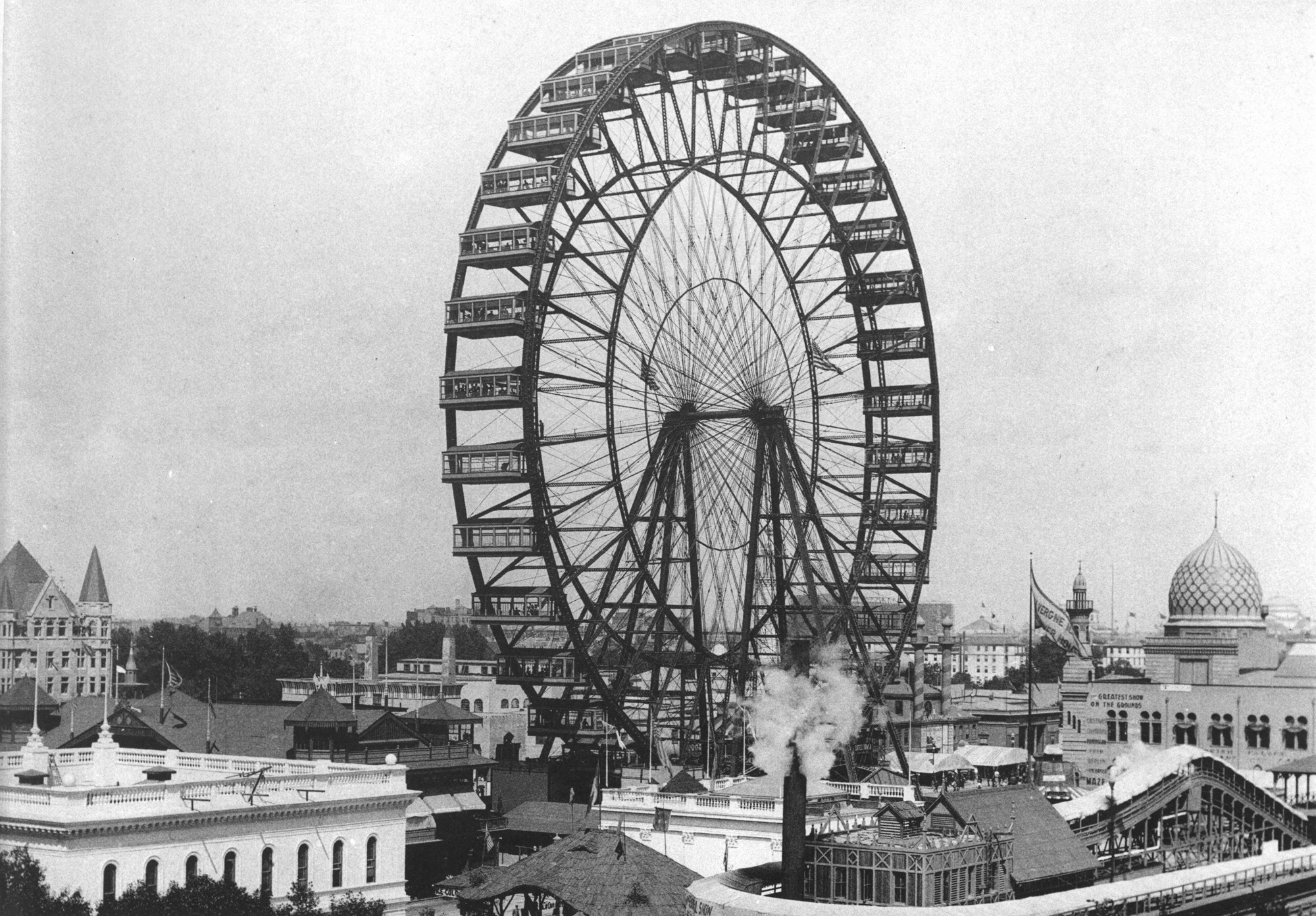 The History of It All: The Original 1893 Chicago World's Fair Ferris Wheel