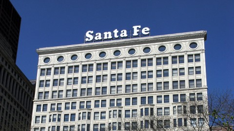 What happened to the Santa Fe sign? · Chicago Architecture