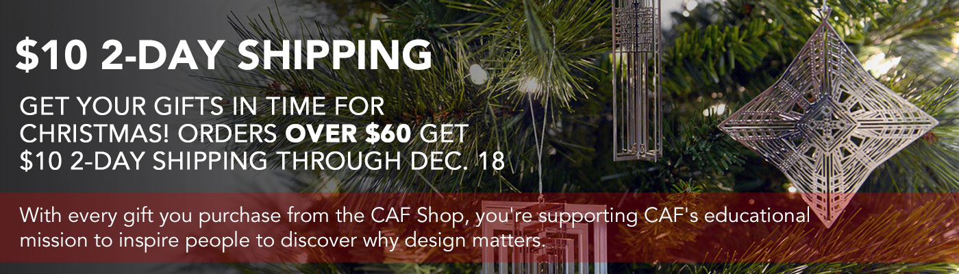 Get your gifts in time for Christmas! Orders over $60 get $10 2-day shipping, now through Monday, Dec. 18.