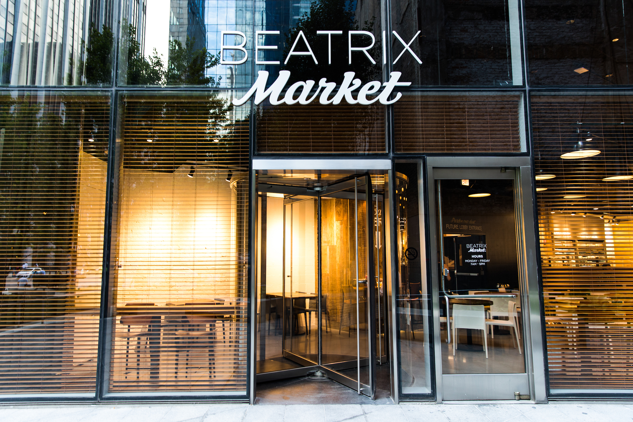 Entrance to Beatrix Market