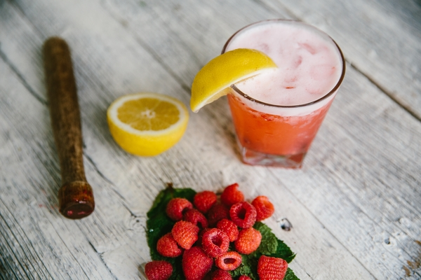 Raspberry-Lemon Smash