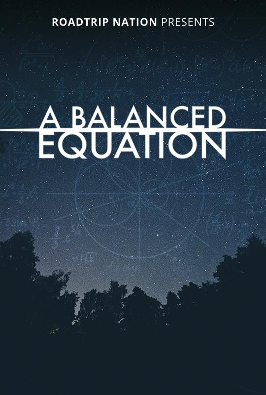 """""""A Balanced Equation"""" film poster"""