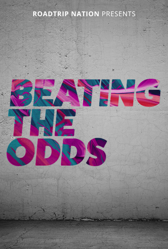 """Beating the Odds"" film poster"
