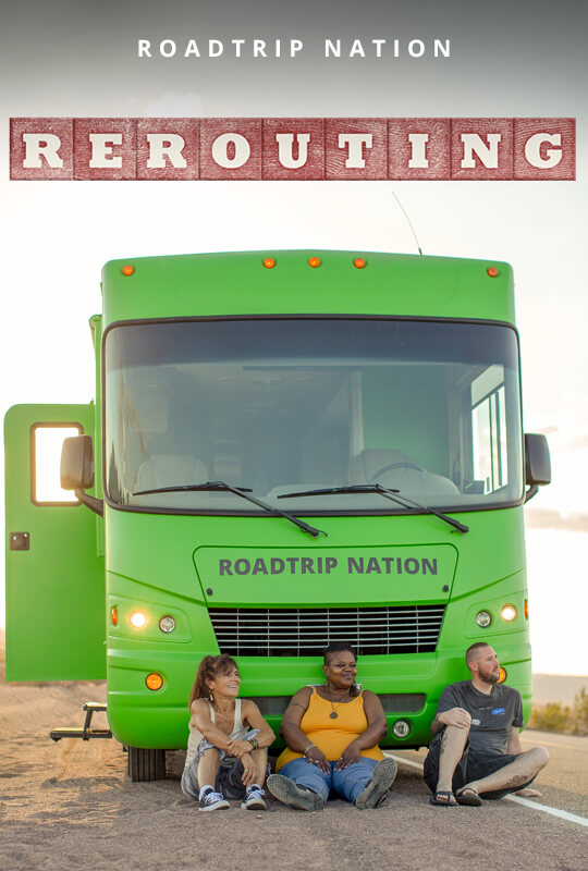 """Rerouting"" film poster"