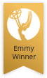 "Badge signifying ""Room to Grow"" is an Emmy-winning series"