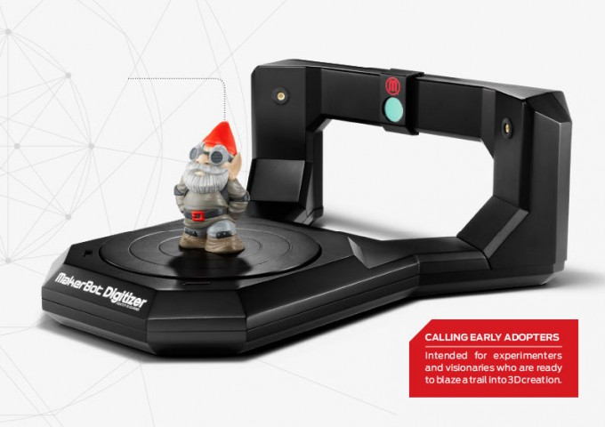 Makerbot Digitizer scanner