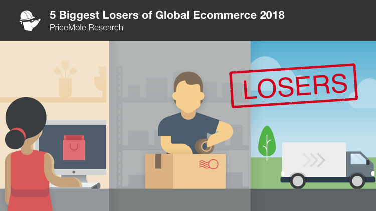 Ecommerce losers 2018