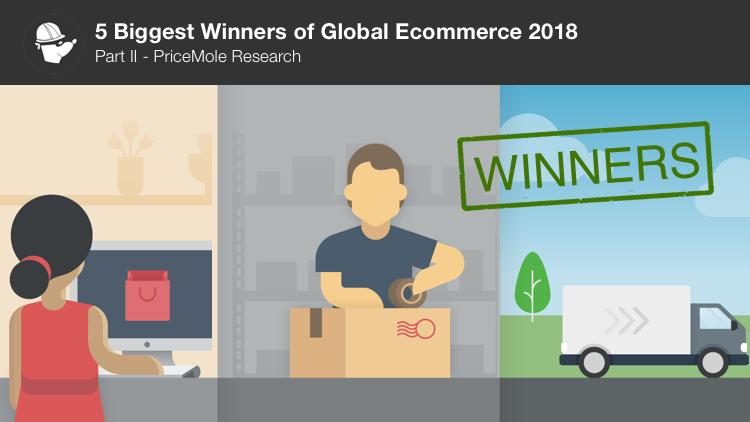 Ecommerce winners 2018