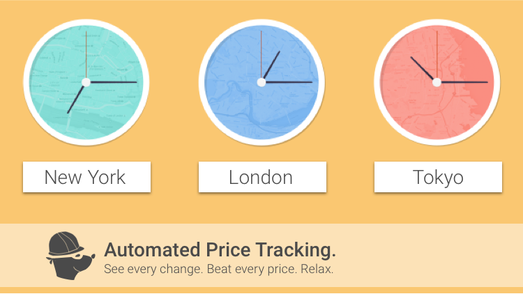 Competitor price tracking automation