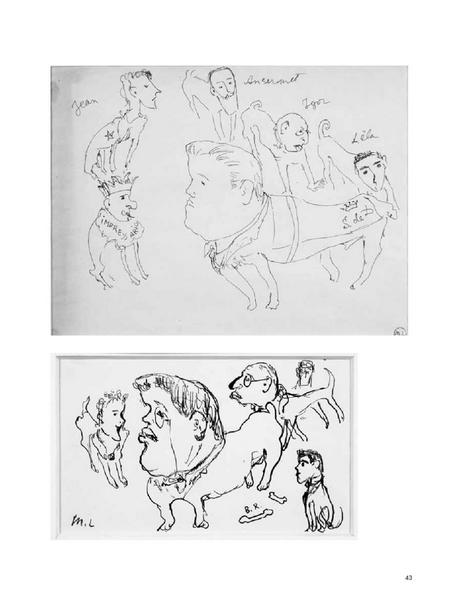 illustration art drawing black white b/w dog