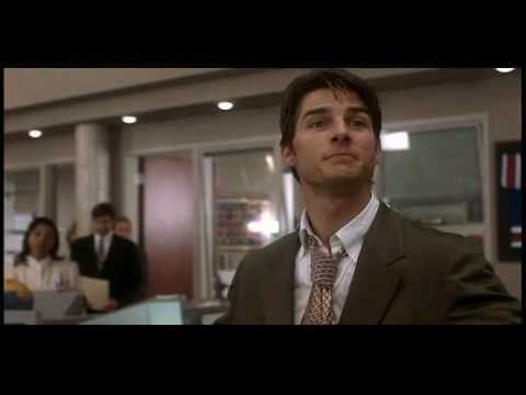 At theRECASTS.com, we recently created a fan edit of the entire Jerry Maguire film. We took out Renée Zellweger, Bonnie Hunt, and that little kid. It's all about football and showing Cuba Gooding Jr. the money. Here's how the scene ends up with Jerry leaving his office...
