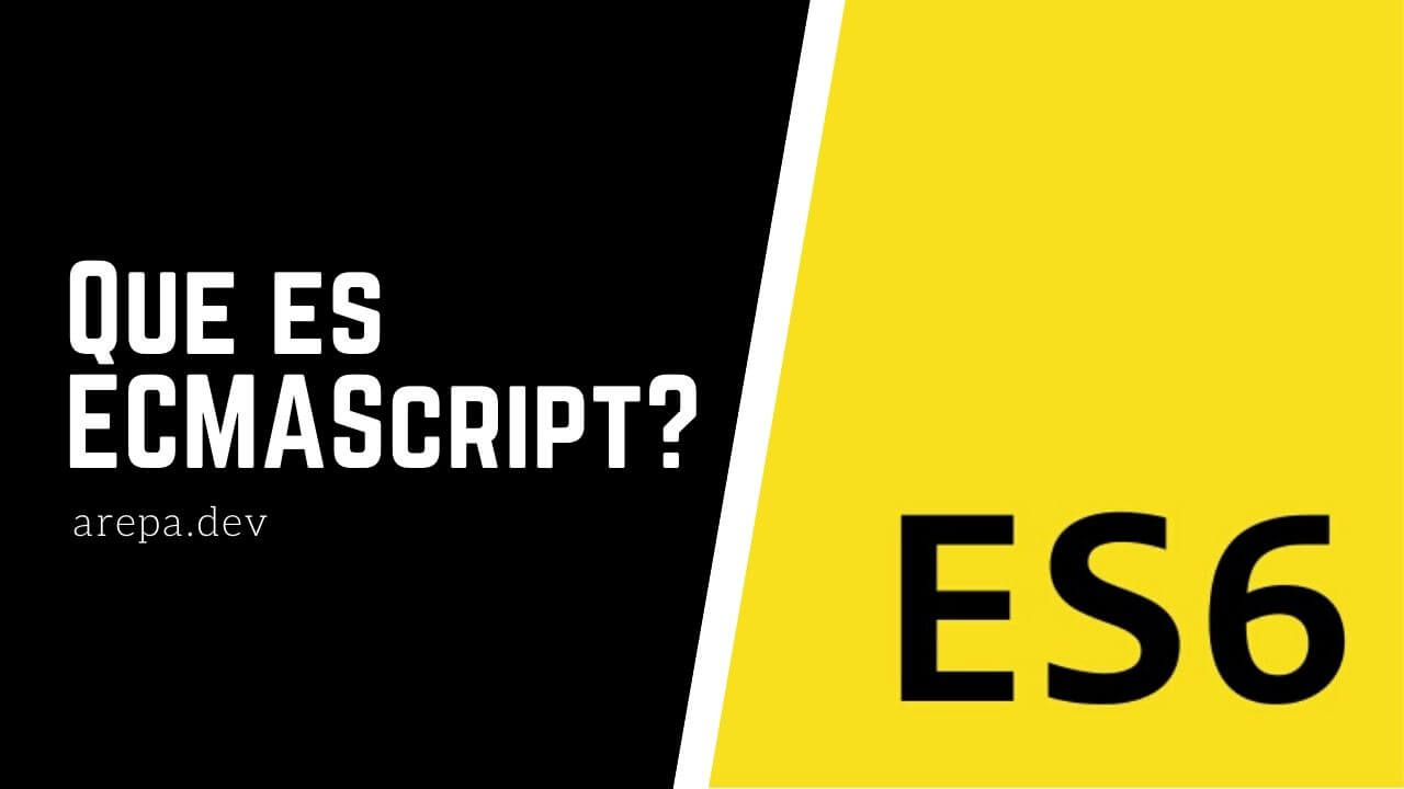¿Qué es ECMAScript?