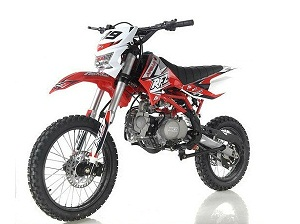 New Apollo DB-X19 Dirt Bike With Headlight 125cc 4 stroke Single Cylinder