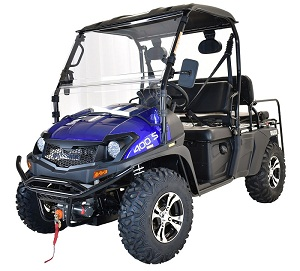 MASSIMO BUCK 400X UTV, 391CC FOUR STROKE SINGLE CYLINDER
