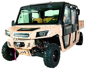 Massimo Warrior 1000 MXU-6 HVAC LSV UTV, Four Stroke 2 Cylinder V-Twin