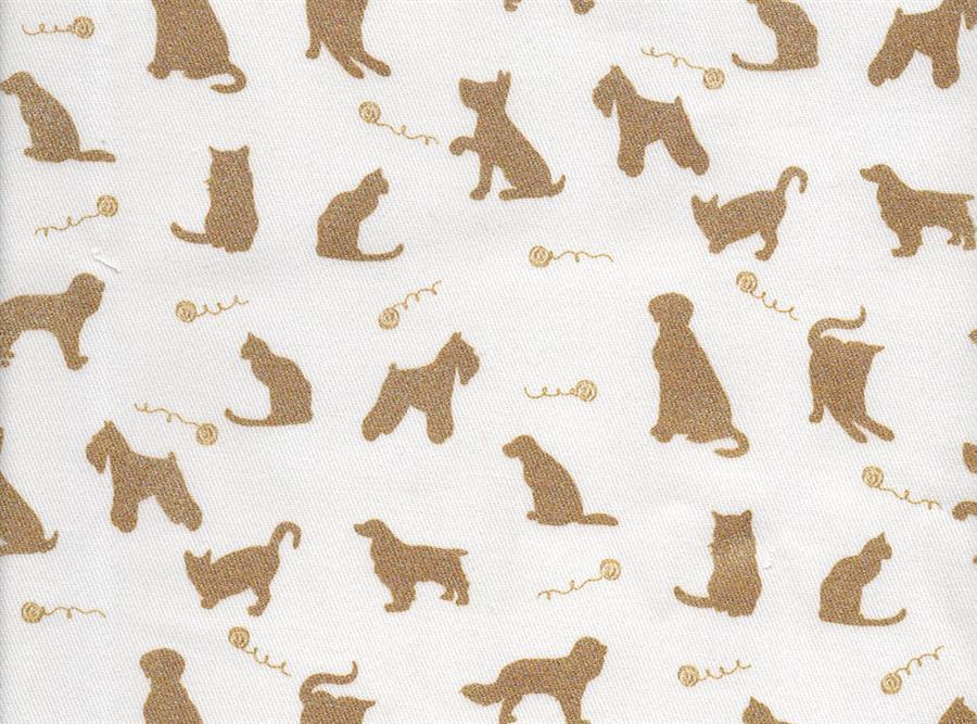 6312 - ALGODÃO CAT& DOG GOLD